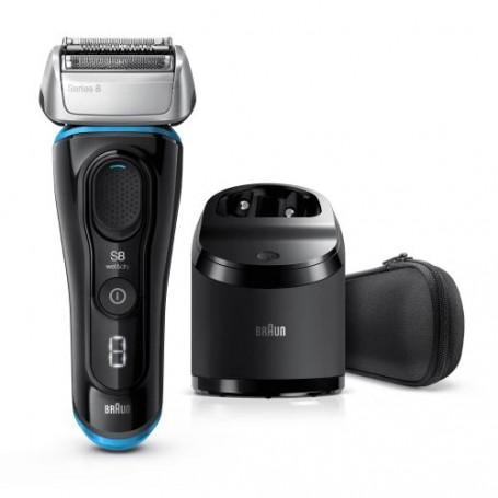 Rasoir Series 8 8365cc doté de la technologie Wet & Dry avec station Clean & Charge